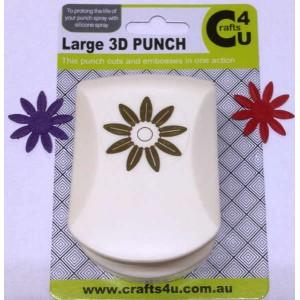 C4U Large Punch Embossed Daisy 20049