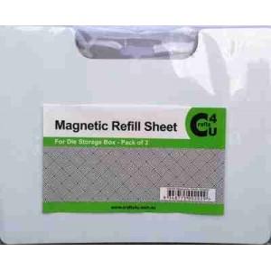 Crafts4U Magnetic Die Storage Refill Sheets 3 Pack 10035