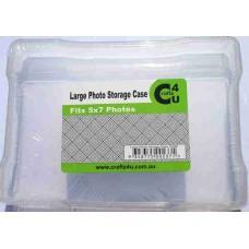 Crafts4U Plastic Photo Storage Case 5 x 7in 10066