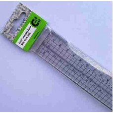 Crafts4U Centering Ruler with Stitch Holes 10030