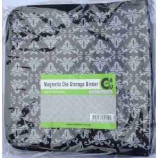 Crafts4U Magnetic Die Storage Binder with 6 Double Sided Sleeves 10069