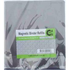 Crafts4U Magnetic Die Storage Binder Double Sided Refills 6 Pack 10070