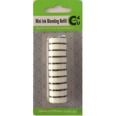 Crafts4U Mini Round Refill Foams (10pk) 10211