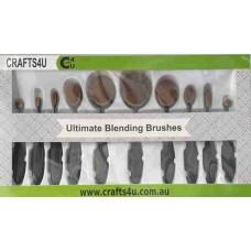 Crafts4U Ultimate Blending Brushes 10 Pack 10249