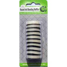 Crafts4U Round Ink Blending Foam Refills 10 Pack 10052
