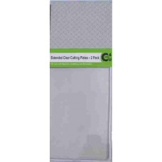 Crafts4U Extended Clear Cutting Plates - 2 per Pack 10060