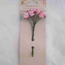 Little Birdie Curly Rose Pink 12pk CR62801
