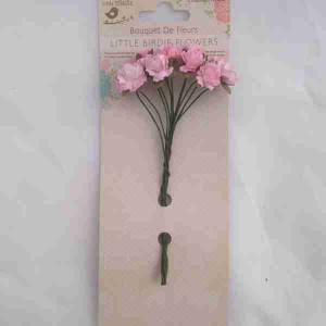 Little Birdie Curly Rose Pink 12pk CR62801