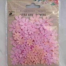 Little Birdie Pearl Florettes Blush 80 pk CR63301