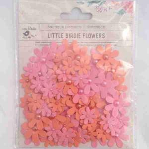 Little Birdie Pearl Florettes Coral 80pk CR63303