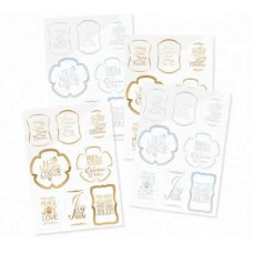 Tonic Die Cut Sentiments 4 Pack Happy birthday Toppers 167E